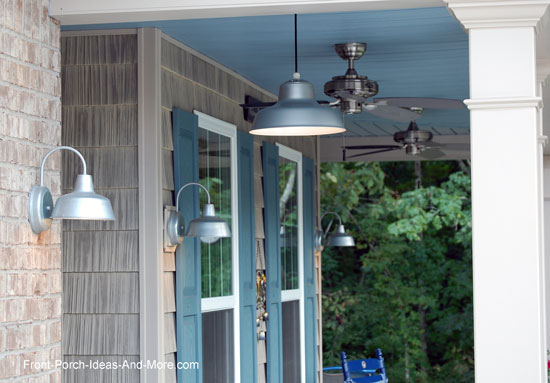 outdoor porch lights for ambiance on