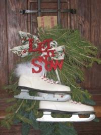 Holiday Porch Decorating Pictures - Winter