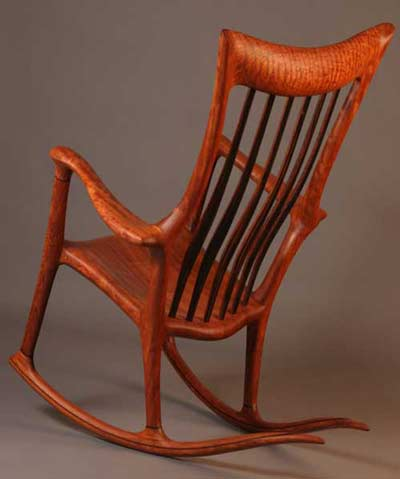 Handcrafted Wood Rocking Chair  Rocking Chair Pictures