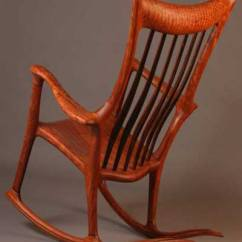 Handmade Rocking Chairs Sling Chair Fabric Replacement Hand Crafted Wood Pictures