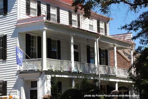 Historic Charleston SC  Historic Charleston Homes  Front porch pictures