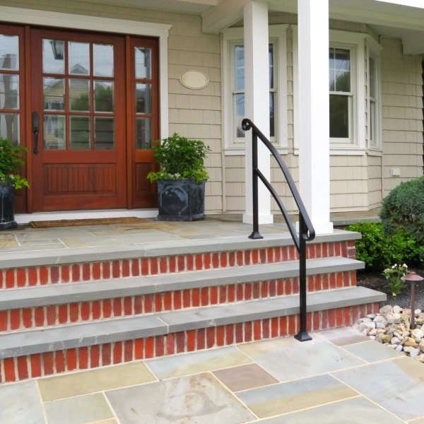 Front Porch Stair Railings for Steps