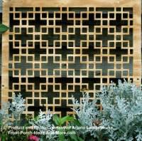Lattice Fence Design | Vinyl Lattice Panels | PVC Lattice