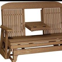 Outdoor Furniture Glider Wicker Porch Gliders