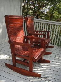 Wooden Rocking Chairs | Rocking Chair Pictures | Porch Rockers