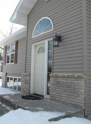 Front Porch Design for Splitlevel Home