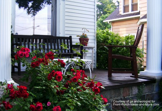 porch landscaping ideas