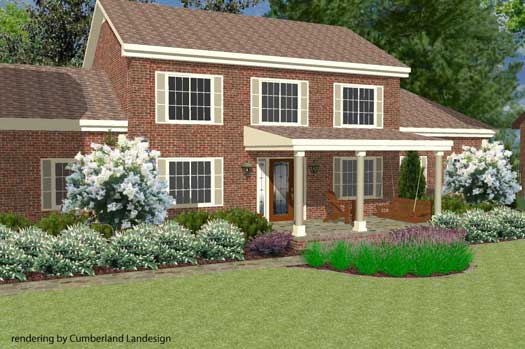 make front lawn landscaping