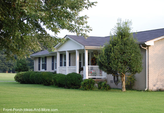 Ranch Home Porches Add Appeal And Comfort