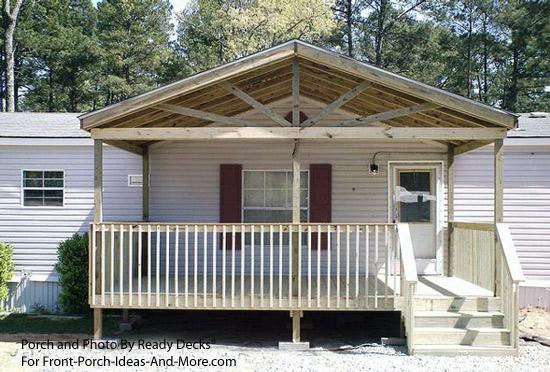 porch designs for mobile homes mobile
