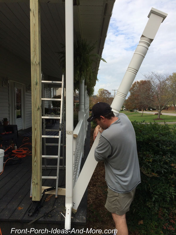Replace a Porch Column the Easy Way