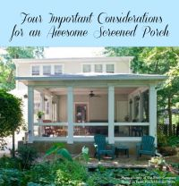 Inspiring Screen Porches Pictures