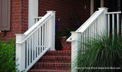 Stair Hand Rails For Porches And Decks   Handrails For Porch Steps   Elderly   Makeover   Metal   Back Porch   Aluminum