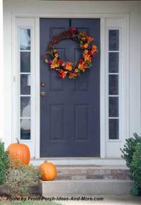Outdoor Thanksgiving Decorations for Your Front Porch ...