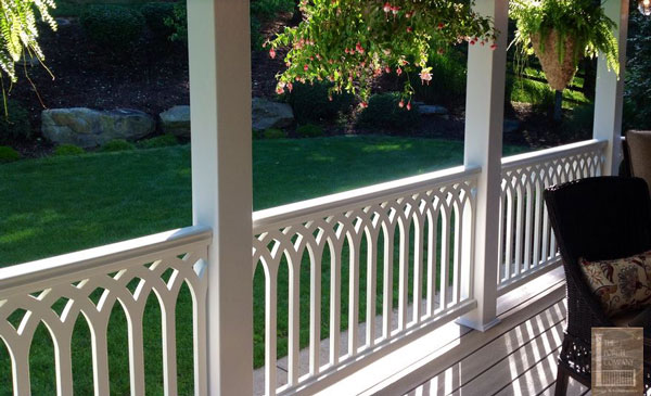 Wood Deck Railings  Porch Railing Designs  Wood Balusters