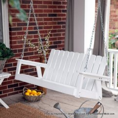 Adirondack Chairs Recycled Materials Massage Costco Porch Swings - Classical And Comfortable