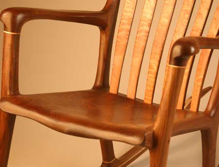 handmade wooden chairs kitchen table 6 hand crafted wood rocking chair pictures lindau front seat view