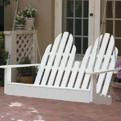 Building An Adirondack Chair Hanging Chairs Ikea Porch Swings - Classical And Comfortable