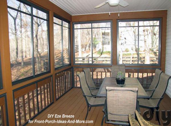 Porch Windows Porch Enclosure Three Season Porch