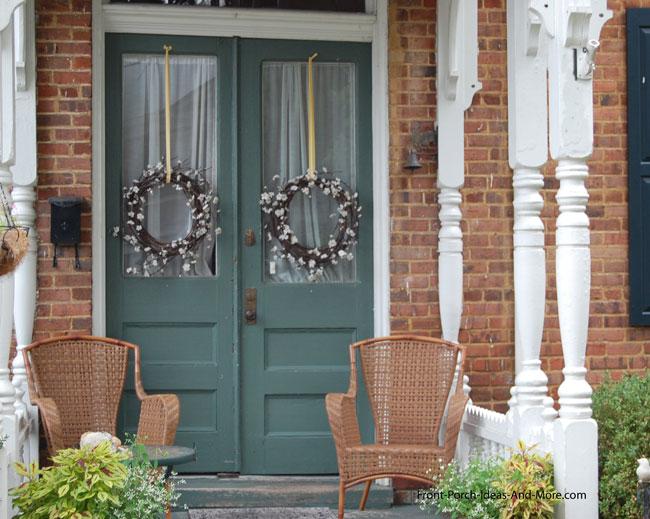 front door window covering ideas