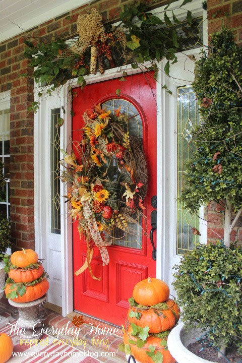 25 Bloggers Fall Decorating Ideas  Outdoor Fall Decorating