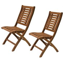 Chair Covers Canadian Tire Vintage Fishing Outdoor Interiors Eucalyptus Folding Side Chairs Set Of