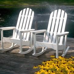 Trex Adirondack Rocking Chairs Hammock Chair Indoor Polywood Classic Rocker