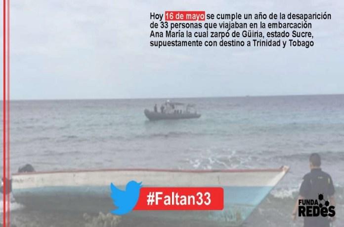 embarcaciones venezolanos desaparecidos