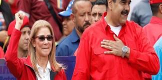Cilia Flores amenaza a Guaidó