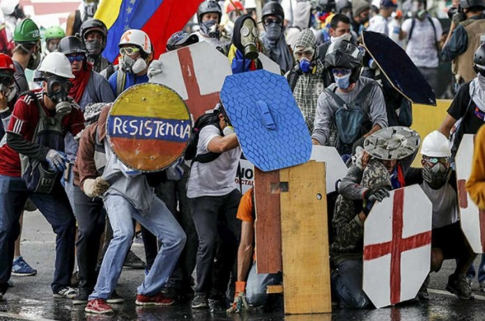 protestas gasolina Venezuela