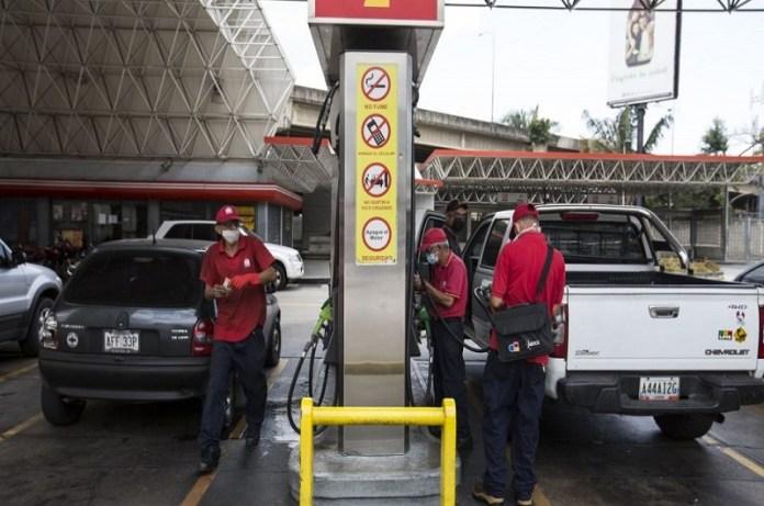 Estación gasolina Caracas