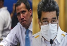 Maduro y Guaidó acuerdo