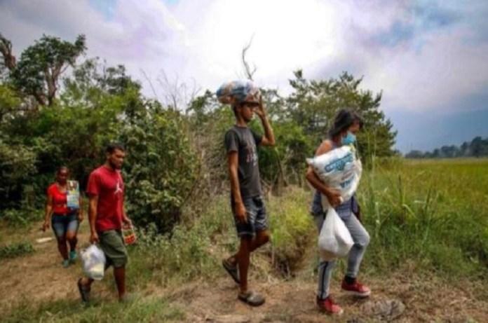 trochas frontera venezolanos