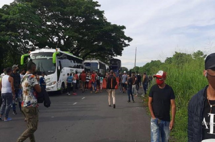 venezolanos devueltos Colombia