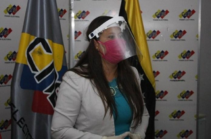 Directora CNE Táchira Registro electoral