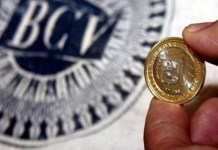 Banco Central de Venezuela comisiones