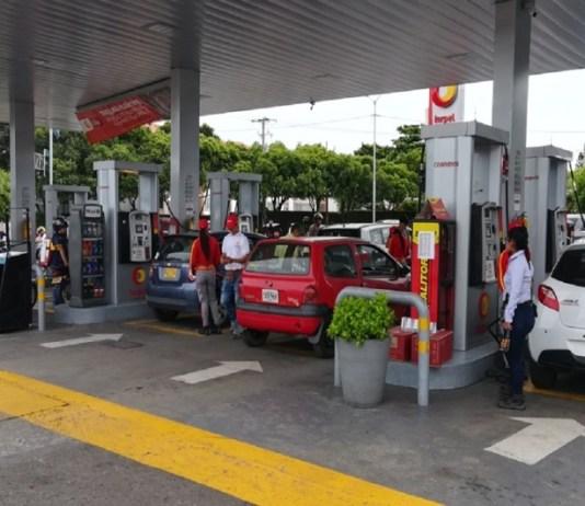 gasolina Cúcuta