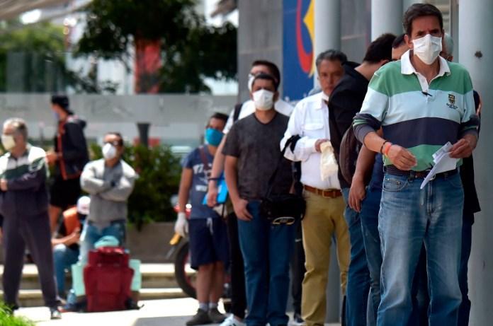 Colombia contagios