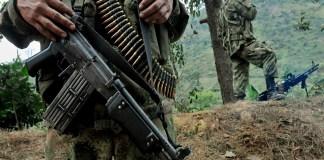 guerrilleros en Venezuela