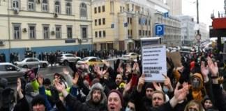 manifestaciones Rusia