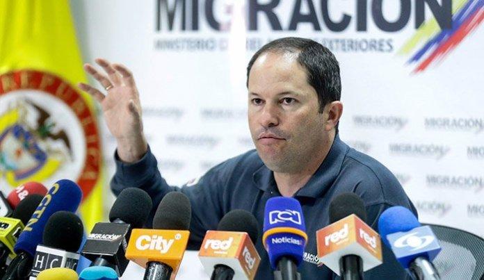 director Migración Colombia Protección Temporal