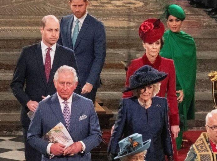 familia real Meghan