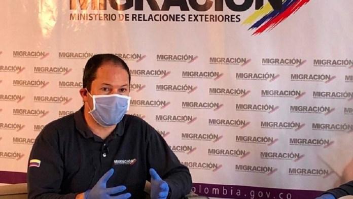 Director de Migración Colombia migrantes