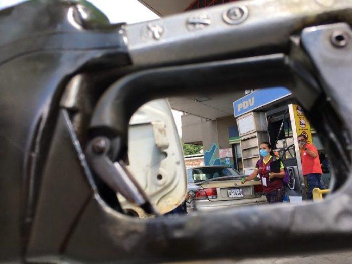 frontera gasolina