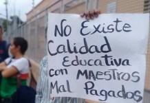 maestros bono Simón Rodríguez