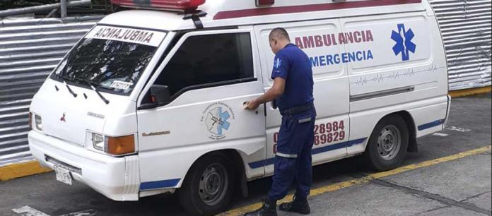 ambulancia combustible