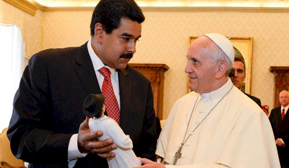 papa Francisco Venezuela