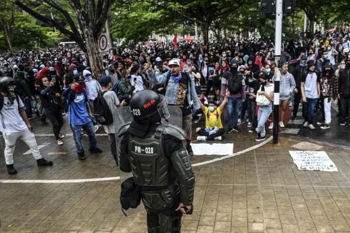 protestas Colombia reforma tributaria