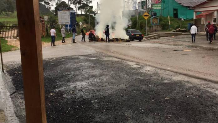 protestas Cúcuta combustible