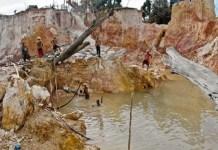 desaparecidos minas Bolívar
